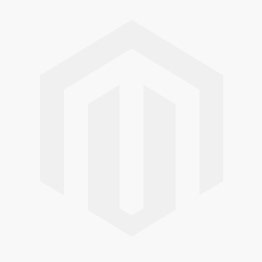 Pearl drop earring, rhodium-plated open heart motiv